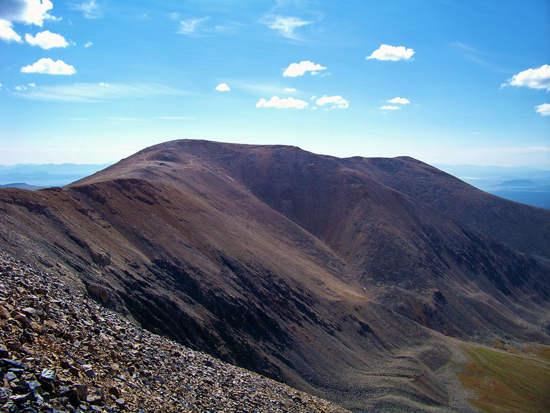 The broad west slopes of Mt. Bross, Colorado Mosquito Range