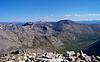 View to the northwest from the Mt. Democrat summit, Colorado Mosquito Range