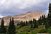 Storm clouds gather over Mt. Bross, Colorado Mosquito <br /> Range