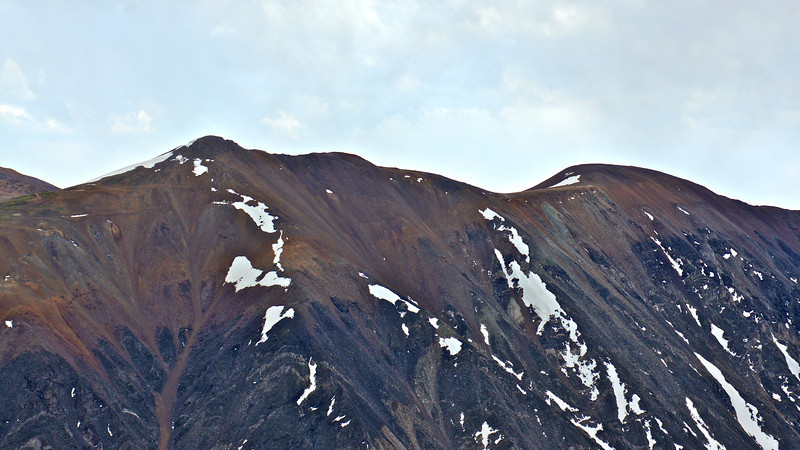The north face of Mounts Lincoln and Cameron viewed from the summit of Quandary Peak; Colorado Mosquito/Tenmile Ranges.