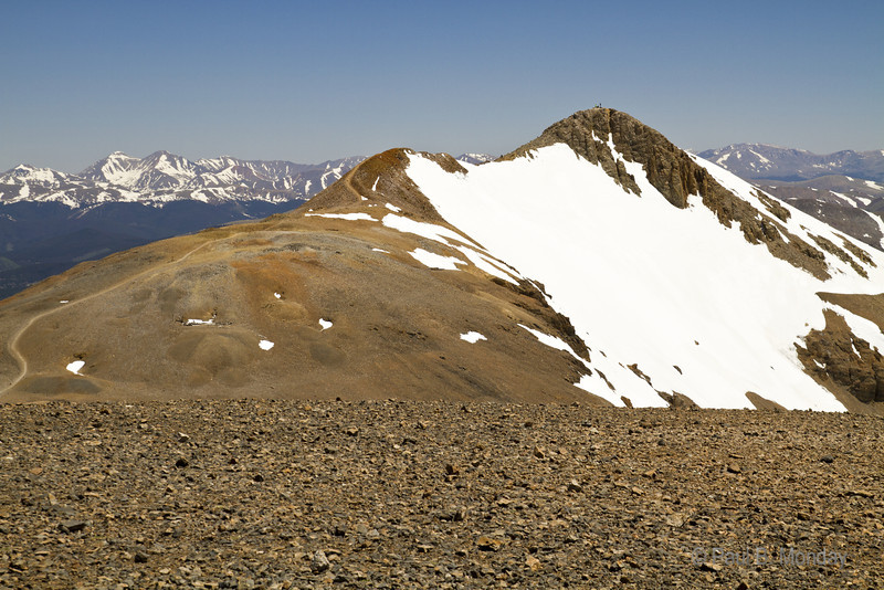 Mt Lincoln (from Mt. Cameron)