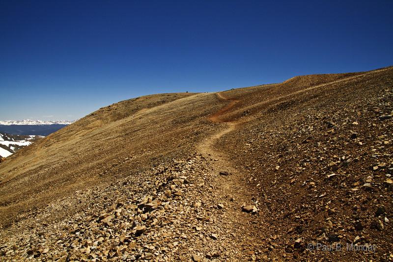 Mt Cameron, the in between 14er