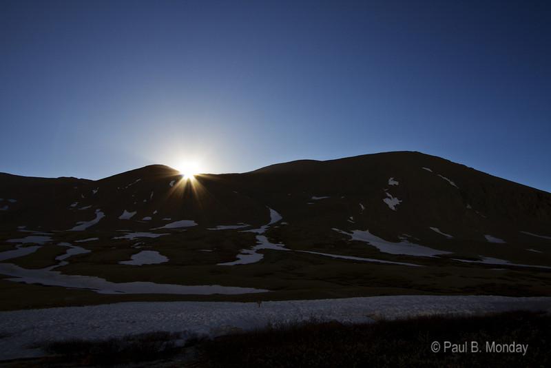 Mt. Bross at sunrise