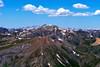 The north face of Handies Peak, viewed from the summit of Sunshine Peak; Colorado San Juan Range.
