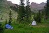 Camping in the Chicago Basin; Colorado San Juan Range