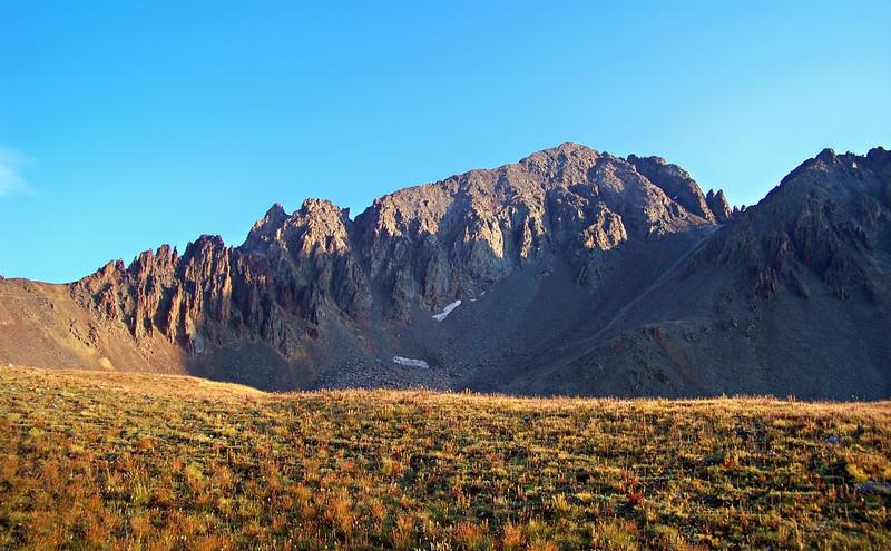 Mt. Sneffels southwest ridge, Colorado San Juan Range