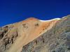 The colorful east face of Redcloud Peak, Colorado San Juan Range.