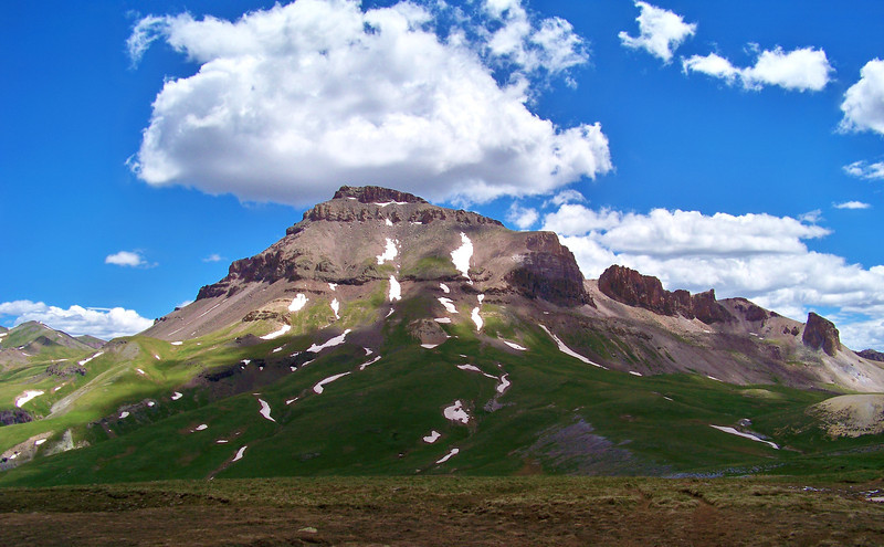 Uncompahgre Peak, west approach, Colorado San Juans