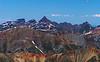 Wetterhorn's steep profile, viewed from Redcloud Peak, Colorado San Juan Range.