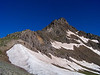 East face and southeast ridge of Wetterhorn Peak, Colorado San Juans