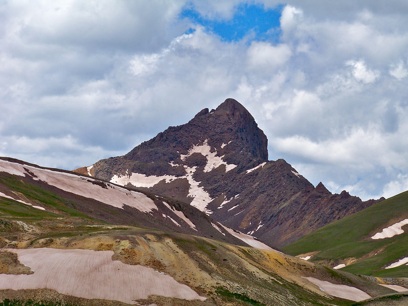 Wetterhorn Peak, east face, Colorado San Juan Mountains.