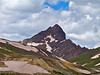 Wetterhorn Peak, east face, Colorado San Juan Mountains.