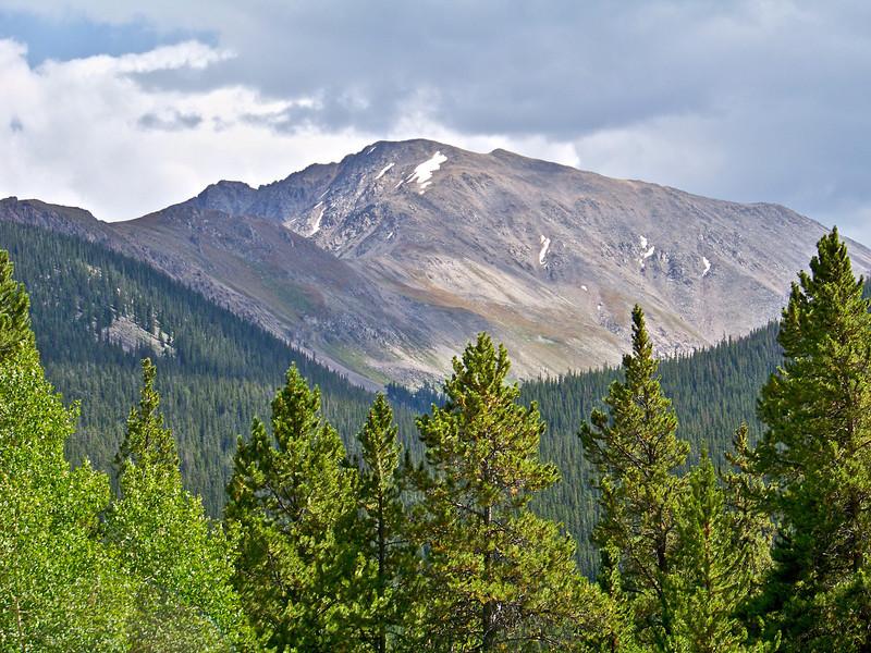 The northwest face of La Plata Peak (14,336 ft.); Colorado Sawatch Range.