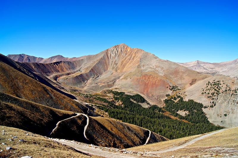 Cronin Peak, Mount Antero's neighbor to the southwest; Colorado Sawatch Range.