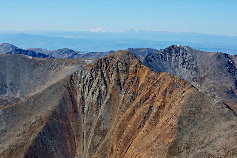 Hidden away to the southwest of Mount Antero is the colorful and majestic Cronin Peak; Colorado Sawatch Range.