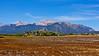 Mount Antero, along with its neighbor, Mount Princeton, towers 7000 feet over the Arkansas valley; Colorado Sawatch Range.