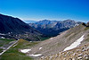 Mt. Yale and Mt. Princeton dominate the view from the south slopes of Mt. Harvard, Colorado Sawatch Range.