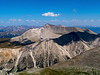 Mt. Antero, Mt. Princeton and the Collegiate Peaks from the Shavano summit, Colorado Sawatch Range