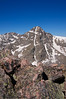 Mount of the Holy Cross viewed from the summit of Notch Mountain (13,248 ft.); Colorado Sawatch Range.