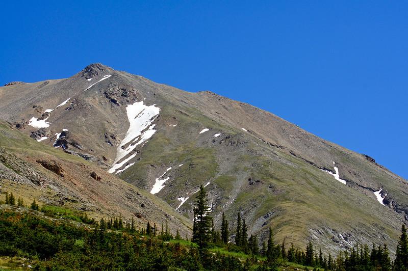 Mt. Belford's north face and northwest ridge; Colorado Sawatch Range