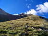 Looking up at Mt. Belford's northwest ridge, Colorado Sawatch Range