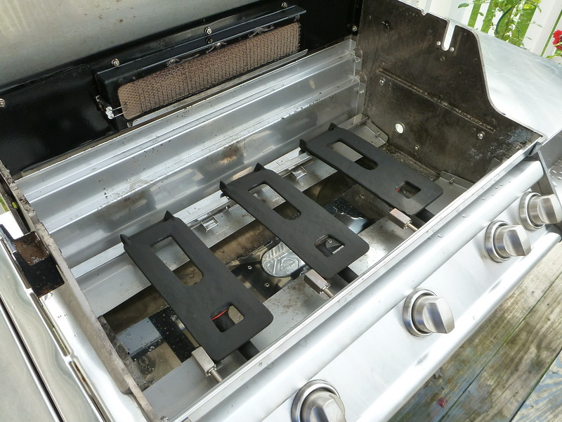 Cleaned Grill and Painted Burners
