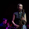 CCM Celebrates its 150th anniversary with a Sesquicentennial Gala Alumni Showcase. Janelle Reichman, sax