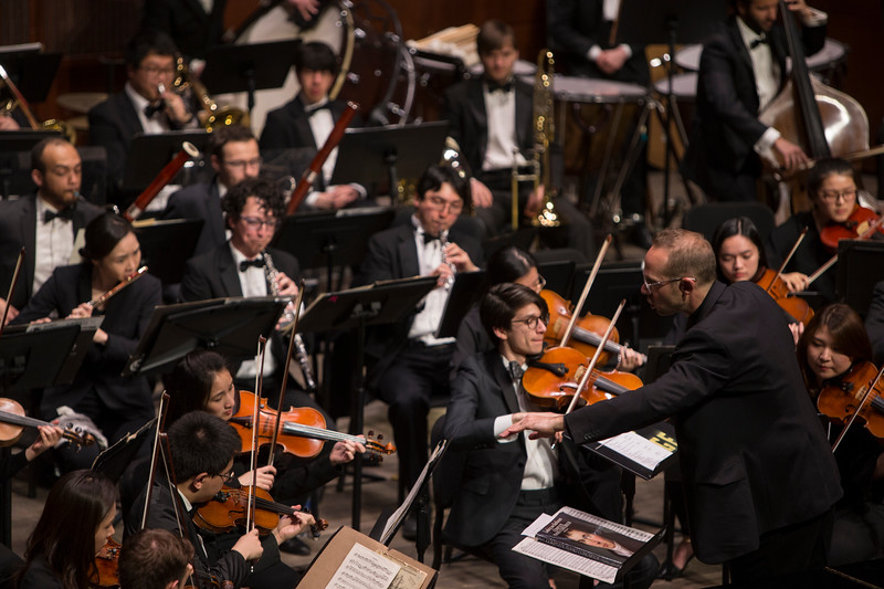 CCM Celebrates its 150th anniversary with a Sesquicentennial Gala Alumni Showcase. Christopher Allen, conductor