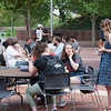 Students, faculty and staff enjoyed CCM's 150th anniversary birthday picnic. UC/Joseph Fuqua II