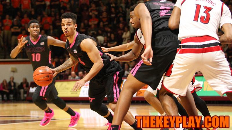 Seth Allen looks for a hole in the Louisville defense. (Mark Umansky/TheKeyPlay.com)