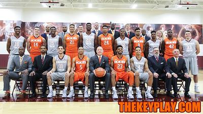 The 2015-2016 Virginia Tech men's basketball team and coaching staff. (Mark Umansky/TheKeyPlay.com)