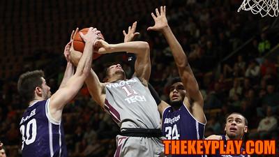 Devin Wilson (11) gets fouled on a layup in the second half. (Mark Umansky/TheKeyPlay.com)