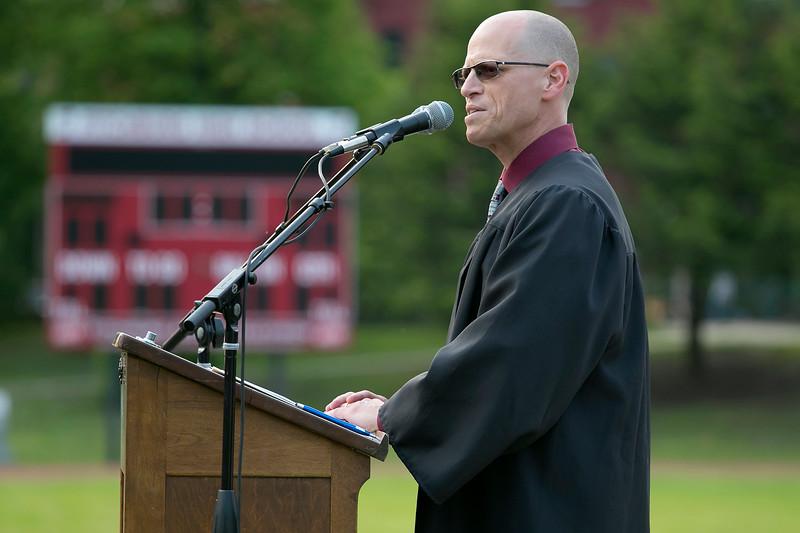 Fitchburg High School graduatuon was held at Crocker Field on Friday night, May 31, 2019. SENTINEL & ENTERPRISE/JOHN LOVE