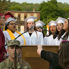 The 153rd Fitchburg High School graduation was held at Crocker Field on Friday night, May 31, 2019. SENTINEL & ENTERPRISE/JOHN LOVE