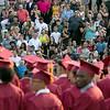 The 153rd Fitchburg High School graduation was held at Crocker Field on Friday night, May 31, 2019. SENTINEL & ENTERPRISE/JOHN LOVE