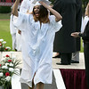 Fitchburg High School graduation was held at Crocker Field on Friday night, May 31, 2019. Very happy after getting her diploma is graduate Naya Nazario. SENTINEL & ENTERPRISE/JOHN LOVE