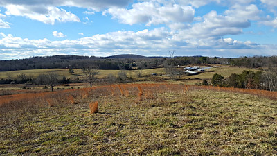 View of farm from Huckleberry Knob. Great location for a home!
