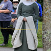 The 15th annual Blacksmith Art and Renaissance Festival was held on Saturday, September 29, 2018. Joann Cowley, dressed the part, from Connecticut watches the jousting at the festival. SENTINEL & ENTERPRISE/JOHN LOVE