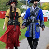 The 15th annual Blacksmith Art and Renaissance Festival was held on Saturday, September 29, 2018. Dressed up for the festival is Jessica and Henrique DeOliveira of Leominster. SENTINEL & ENTERPRISE/JOHN LOVE