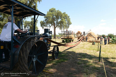 The 15th Annual Old Fashioned Country Faire and Threshing Bee on Saturday, June 10, 2017, at the Patrick Ranch Museum in Durham, California. (Dan Reidel -- Enterprise-Record)
