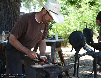 Doug Maxfield at the 15th Annual Old Fashioned Country Faire and Threshing Bee on Saturday, June 10, 2017, at the Patrick Ranch Museum in Durham, California. (Dan Reidel -- Enterprise-Record)
