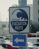 Near the harbor in downtown San Diego: a traffic sign you just don't see everyday