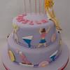 Torta decorada para una adolecente, qué mejor que festejar con música, baile y amigos?