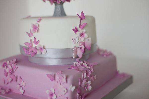 Tortas decoradas con mariposas - Imagui