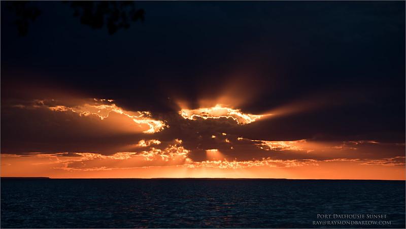 DSC_7495 Port Dalhousie Sunset June 1st 1600 share
