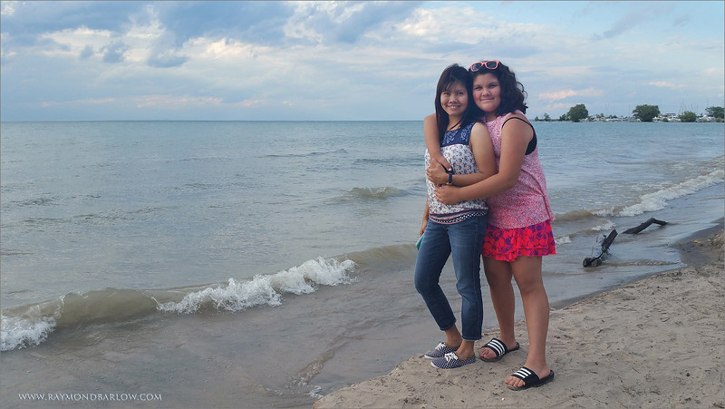 Port Dalhousie Beach with my new Models!