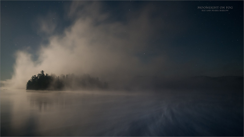 Maria Barlow - Fog show at Algonquin!<br /> Algonquin Provincial Park<br /> <br /> Long drive yesterday, 2:30 pm, off to Huntsville for dinner, then a quick run into Algonquin until almost midnight, as we came home with this shot. About 5 am I was back home, and toast! 24 hour days are fun, along with too much coffee!<br /> <br /> Maria basically took this shot, I just coached with the tech stuff, she is really getting this photography deal!<br /> <br /> Sharing what I know about photography with Maria is quite an honor.. she is really keen, and picks things up quickly. She is already teaching me!<br /> <br /> Best regards!<br /> Nikon D850 ,Nikkor 17-35mm f/2.8D ED-IF AF-S<br /> 10s f/4.0 at 28.0mm iso1600