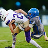 Union's Tre'von Charles takes down a Western Beaver ball carrier.