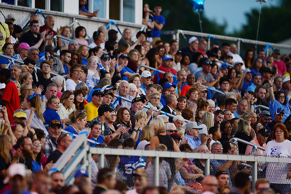 The stands were filled for Union's homecoming game Friday night.