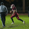 Damien Nadal of Fitchburg HS takes off on a touchdown run in the 1st quarter against North Middlesex. SENTINEL&ENTERPRISE/ Jim Marabello